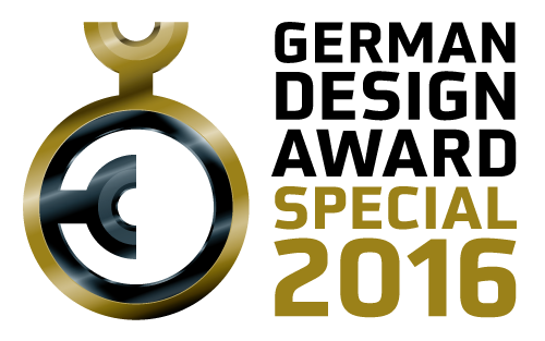 German Design Award 2016 Special Mention ジャーマンデザインアワード ドイツ ジャーマンデザイン賞 特別賞