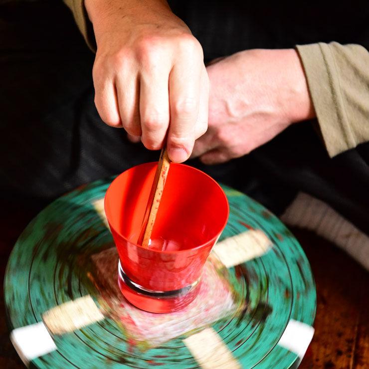 生涯を添い遂げるグラス 本漆塗り 熊野洞 宮城県仙台市