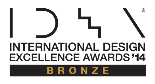 International Design Excellence Awards 2014 BRONZ インターナショナル・デザイン・エクセレンス賞 IDEA賞 銅賞