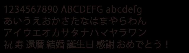 [3,000 円]フォントB